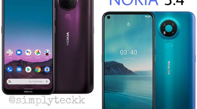 Nokia 5.4 & Nokia 3.4 launched